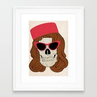60s Framed Art Prints featuring 60s by Christopher Goggs