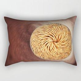 Toothpicks Rectangular Pillow