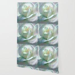 Painterly Iridescent Rose Wallpaper