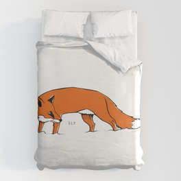 Sly Fox Duvet Cover
