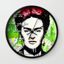 Frida fly Wall Clock