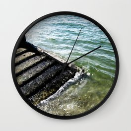 Alki Beach Wall Clock