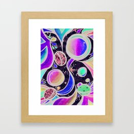 Head Space Framed Art Print