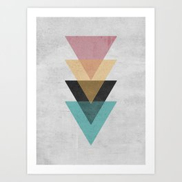 Abstract geometry 1 Art Print