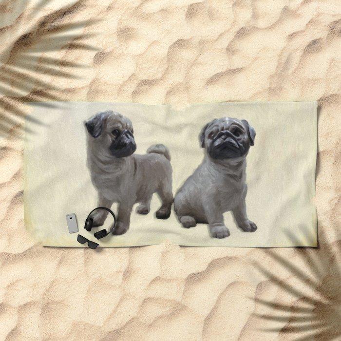 friends for life  2 Beach Towel