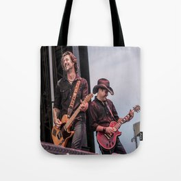 Roger Clyne and the Peacemakers shower curtain Tote Bag