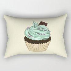 Spongy Cupcake Rectangular Pillow