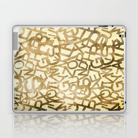 Din pattern Laptop & iPad Skin