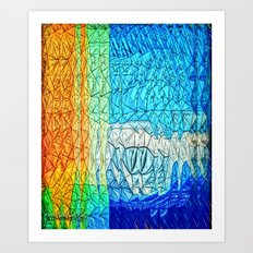 Creature from the Deep 2 Art Print