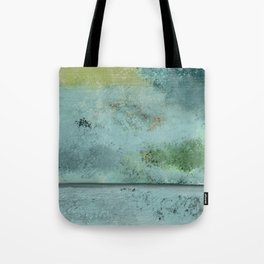 Green, Blue, Grays, Textures Tote Bag