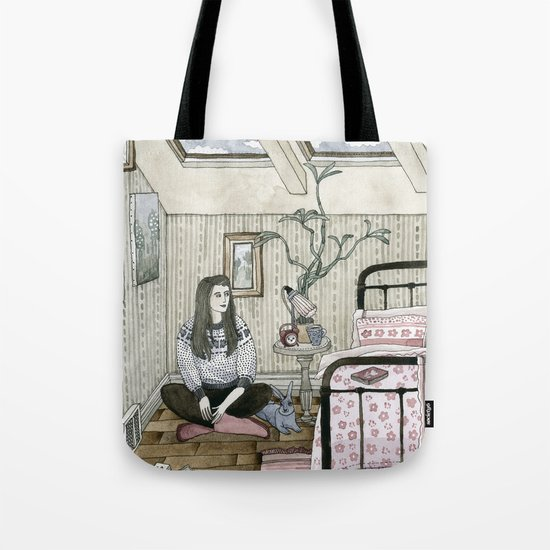 Girls bedroom Tote Bag
