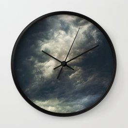 Cloudio di porno II Wall Clock