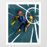 The Knee of Justice Art Print