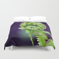 fern Duvet Covers featuring Fern by LoRo  Art & Pictures