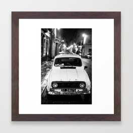 Parked Framed Art Print