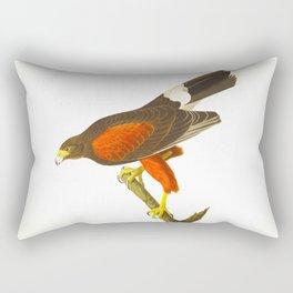 Louisiana Hawk Rectangular Pillow