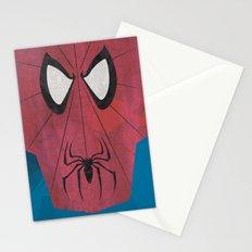 Minimal Spiderman Stationery Cards