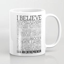 Entrepreneur Manifesto Coffee Mug