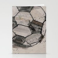 soccer Stationery Cards featuring soccer by hello kaja
