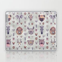 African Mammals Poster and Pattern Laptop & iPad Skin