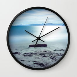 Ocean Waters Photography Print Wall Clock