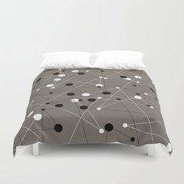 Molecular Pattern Duvet Cover