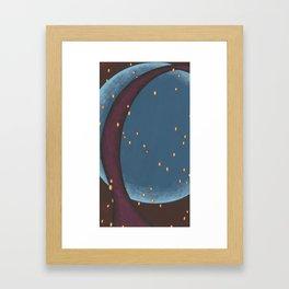 Moonlike Framed Art Print