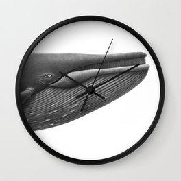Blue Whale Study Wall Clock
