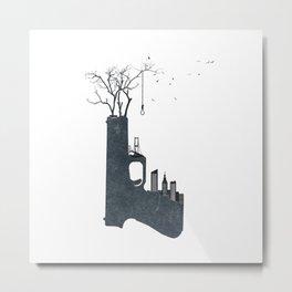 big city life (part 2 of 3) Metal Print