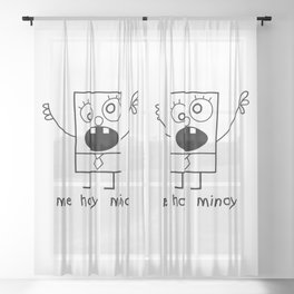 Me Hoy Minoy Sheer Curtain