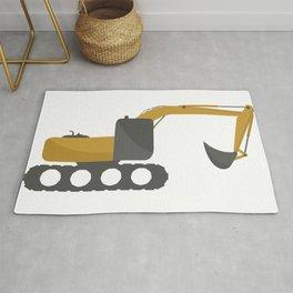 excavator Rug
