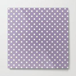 Lavender 4 dots Metal Print