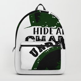 Big Foot Undefeated Hide and Seek Champion Bigfoot Backpack