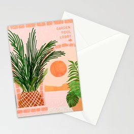 Mediterranean Vacation / Exotic Landscape Stationery Cards