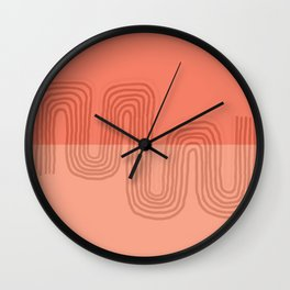 Squiggles Wall Clock