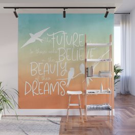 Beauty of Dreams - sunset colors Wall Mural