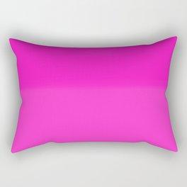 Two-Toned Pink Rectangular Pillow