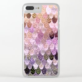 SUMMER MERMAID MOONSHINE  GOLD 2 Clear iPhone Case