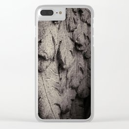 Feathers of Stone Clear iPhone Case