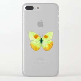 Spotty Sunrise Clear iPhone Case