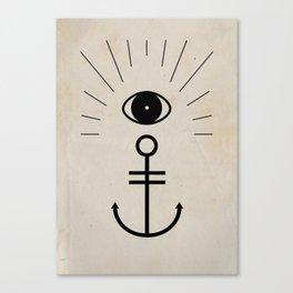 Anchor your Smile Canvas Print