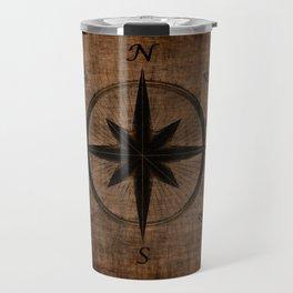 Nostalgic Old Compass Rose Travel Mug