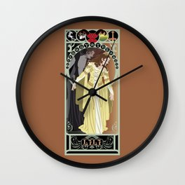 Lili Nouveau - Legend Wall Clock