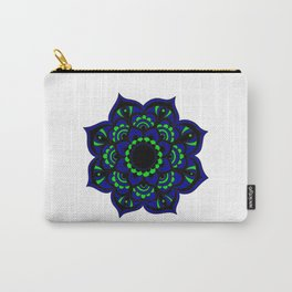 Peacock flower | Mandala Carry-All Pouch