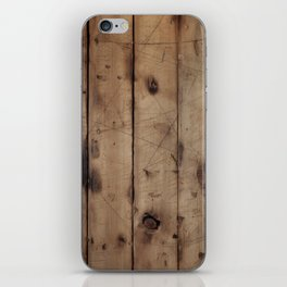 Burnt WoodGrain iPhone Skin