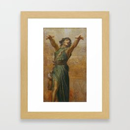 George Frederic Watts 1817–1904   Jonah Framed Art Print