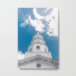 Charleston Steeple IV Metal Print