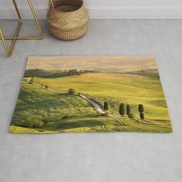 Gladiator road in Tuscany Rug