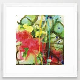 Fruity Splash Framed Art Print