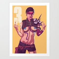 80/90s - Tye Art Print